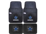 Fanmats Dallas Cowboys Car Floor Mats 4pc Set