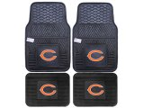 Fanmats Chicago Bears Car Floor Mats 4pc Set
