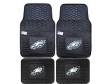 Fanmats Philadelphia Eagles Car Floor Mats 4pc Set