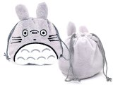 My Neighbor Totoro Plush Tie String Pouch Bag