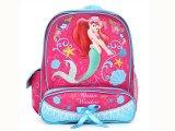 """Disney Little Mermaid Ariel  School Backpack/Bag- 11"""" Medium Pearl"""