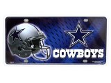 NFL Dallas Cowboys Metal License Plate