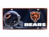 NFL Chicago Bears  Metal License Plate