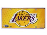 NFL Los Angeles Lakers  Metal License Plate