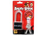 Rovio Angry Birds  Lock with Keys- Black
