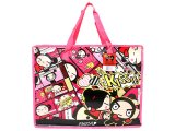 "Pucca and Garu Reusable Tote Beach Duffle Bag -21"" XL"