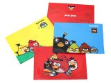 Rovio Angry Birds Multipurpose Poly File Envelopes Folder 4pc Set