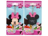 Disney Club House Key Minnie Mouse  Cap Key Holder  - Pink Bow