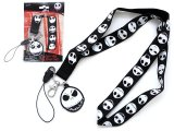 Nightmare Before Christmas Lanyard KeyChain with ID Pocket