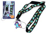 Phineas and Ferb Agent P Lanyard KeyChain with ID Pocket