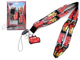 Disney Cars McQueen Lanyard KeyChain with ID Pocket