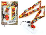 Marvel Spiderman Lanyard KeyChain with ID Pocket