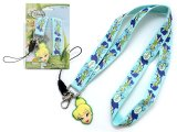Disney Tinkerbell Lanyard KeyChain with ID Pocket