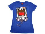 Domo Kun Girls Women T-Shirt - Domo Cat : Large