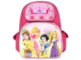 Disney Princess with Tangled School Backpack 16in Large Bag