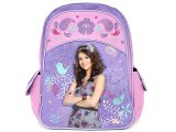"Wizards of Waverly Place School Backpack/Bag :16"" Large :Pink Flowers"