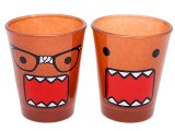 Domo Kun Shot Glass Set with Nerd Domo  (2pc)