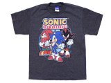 Sonic the Hedgehog Sonic Posse Kids Youth T-Shirt -X Large