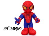 Marvel Heroes Spider Man Plush Doll Cuddle Pillow: Sling Web-25in Jumbo