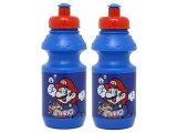 Nintendo Super Mario Drinking Bottle Set -2pc