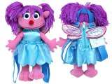 Sesame Street Abby CadabbyPlush Doll Backpack Bag