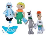 The Jetsons Plush Doll Set Elroy Astro Rosie  George -11in