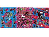Monster High Stickers Set of 3 - Removable Wall Window
