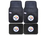 Fanmats Pittsburgh Steelers  Car Floor Mats 4pc Set