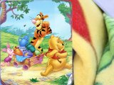 Winnie the Pooh & Friends  Fleece Throw Blanket (50in x 60in)