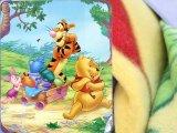 Winnie the Pooh & Friends  Fleece Throw Blanket (50in x 60in)