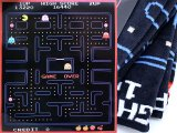 Pac Man Game Screen Microfiber Plush Throw Blanket  Twin (50x60)