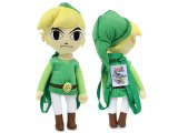 The Legend of Zelda Plush  Backpack Costume Bag 19in