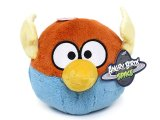 Angry Birds Space Lightning Wing Bird Plush Doll 8in w/Sound