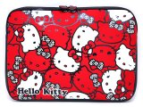 Sanrio Hello Kitty Formed LapTop Case - 15in Red