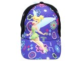 Disney Tinkerbell Fairies Baseball Cap/Hat -Purple Flora Fairy