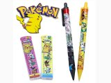 Pokemon Best Wishes Mechanical Pencil Sharp Pencil Set with Refills 4PC