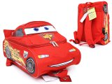 Disney Cars Mcqueen 12in Medium School Backpack  -3D Shape