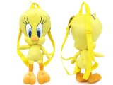 Tweety Plush Bag 16in Backpack