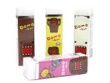 Domo Kun 4pc Eraser Set