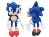 Sega Sonic The Hedgehog X Blue Sonic Plush Doll 13in Large