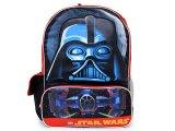 Lego Star Wars Darth Vade School Backpack -Large 16in
