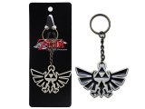 Legend of Zelda Triforce Metal Keychain