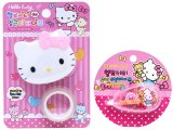 Sanrio Hello Kitty Clear Tape Dispenser with Whiteout Tape