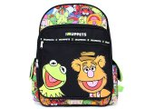 The Muppets Large School Backpack -Bear and Frog