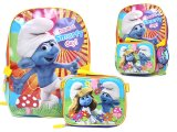 The Smurfs Smurfette School Backpack w/Lunch Pouch