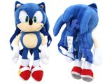 Sonic Plush Doll Bag Custume Backpack -21""