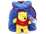 Disney Winnie The Pooh  Plush Backpack /Bag with Big Plush -Blue