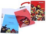 Rovio Angry Birds Multipurpose File Holder 3 Tab Poly Folder Set