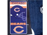 NFL Chicago Bears Beach, Bath Towel -Helmet Logo