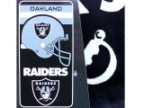 NFL Oakland Raiders Beach, Bath Towel -Helmet Logo